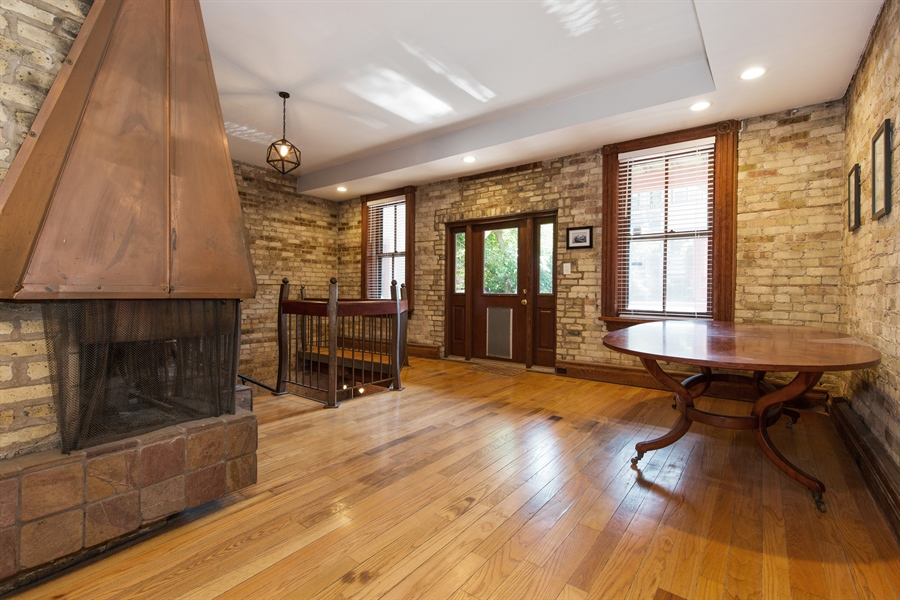 Real Estate Photography - 2854 N Orchard, Unit 1, Chicago, IL, 60657 - Dining Room