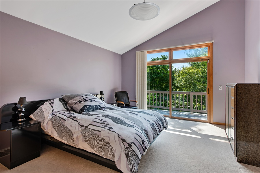 Real Estate Photography - 2035 Wagner Rd, Glenview, IL, 60025 - Bedroom 4