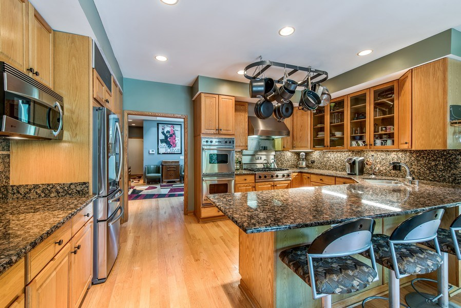 Real Estate Photography - 2035 Wagner Rd, Glenview, IL, 60025 - Kitchen