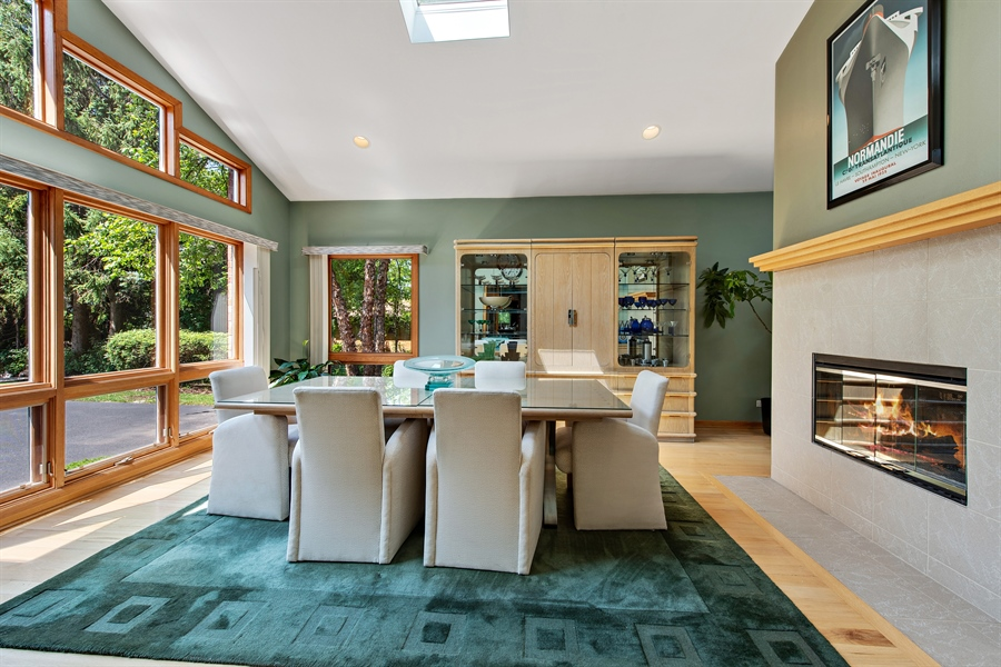 Real Estate Photography - 2035 Wagner Rd, Glenview, IL, 60025 - Dining Room