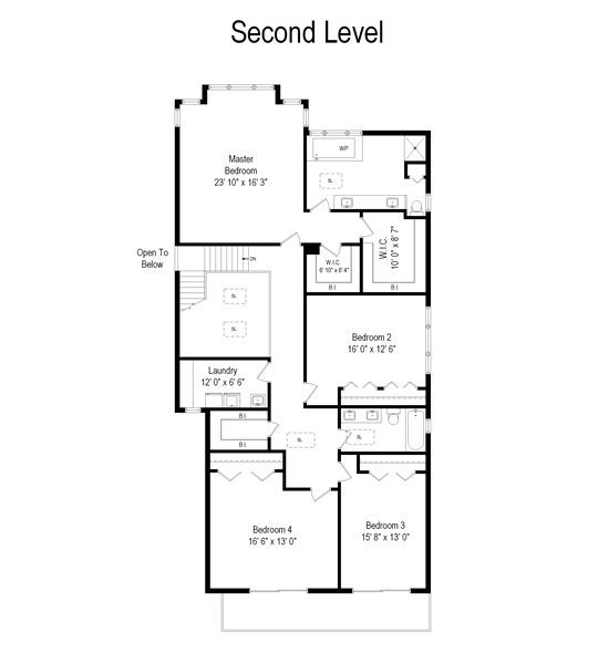 Real Estate Photography - 2035 Wagner Rd, Glenview, IL, 60025 - Floor Plan