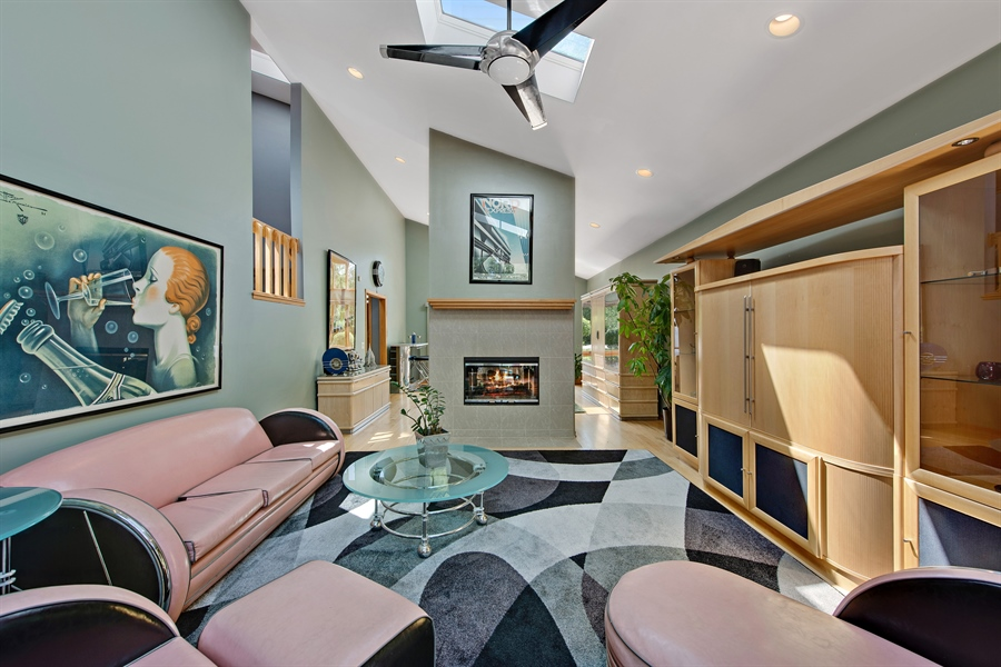 Real Estate Photography - 2035 Wagner Rd, Glenview, IL, 60025 - Living Room / Dining Room