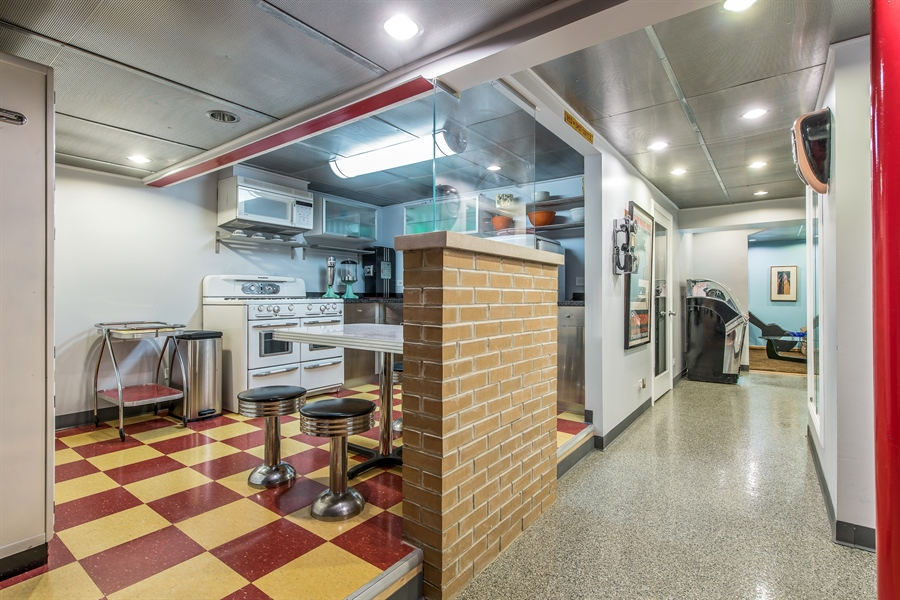 Real Estate Photography - 2035 Wagner Rd, Glenview, IL, 60025 - Second kitchen
