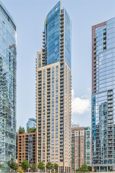 Real Estate Photography - 420 E Waterside Dr, Unit 1104, Chicago, IL, 60601 - Front View