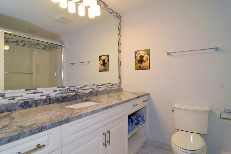 Real Estate Photography - 1626 Dublin Ct, Inverness, IL, 60010 - 3rd Bathroom