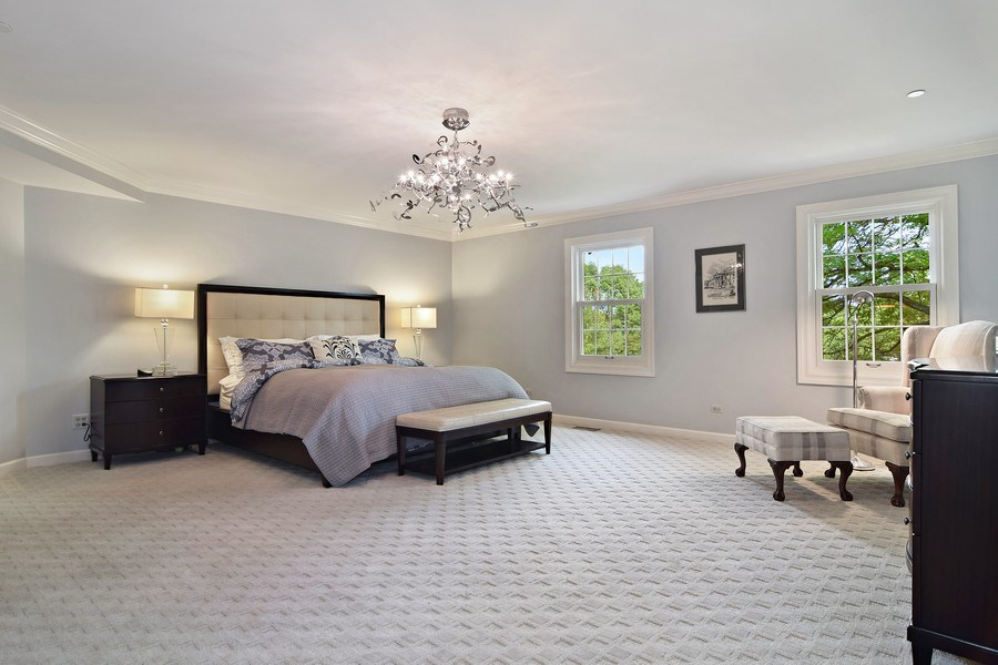 Real Estate Photography - 1626 Dublin Ct, Inverness, IL, 60010 - Master Bedroom