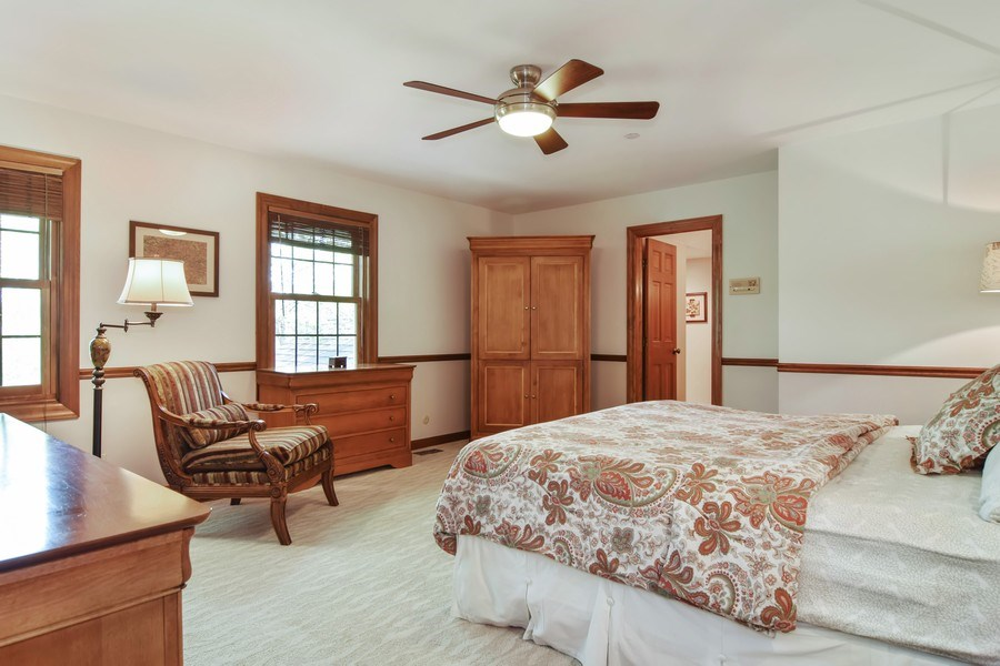 Real Estate Photography - 1626 Dublin Ct, Inverness, IL, 60010 - Guest Bedroom