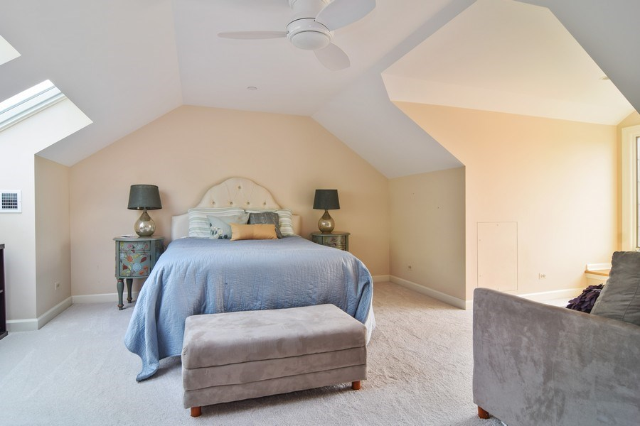 Real Estate Photography - 1626 Dublin Ct, Inverness, IL, 60010 - 2nd Bedroom