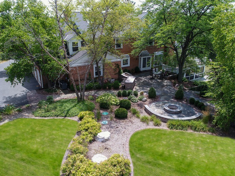 Real Estate Photography - 1626 Dublin Ct, Inverness, IL, 60010 - Aerial View