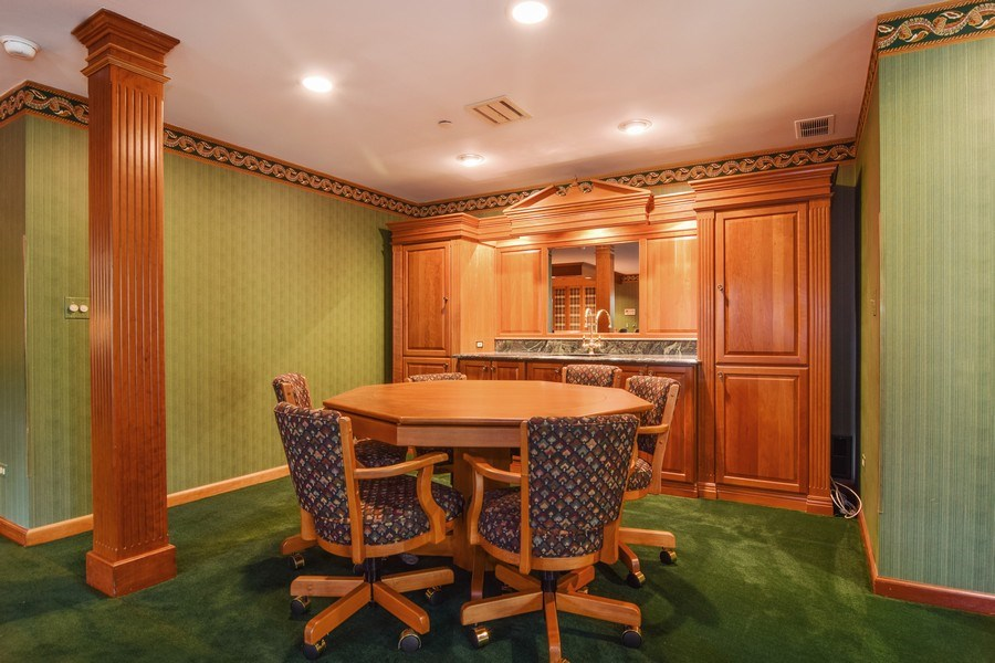 Real Estate Photography - 1626 Dublin Ct, Inverness, IL, 60010 - Entertainment Room