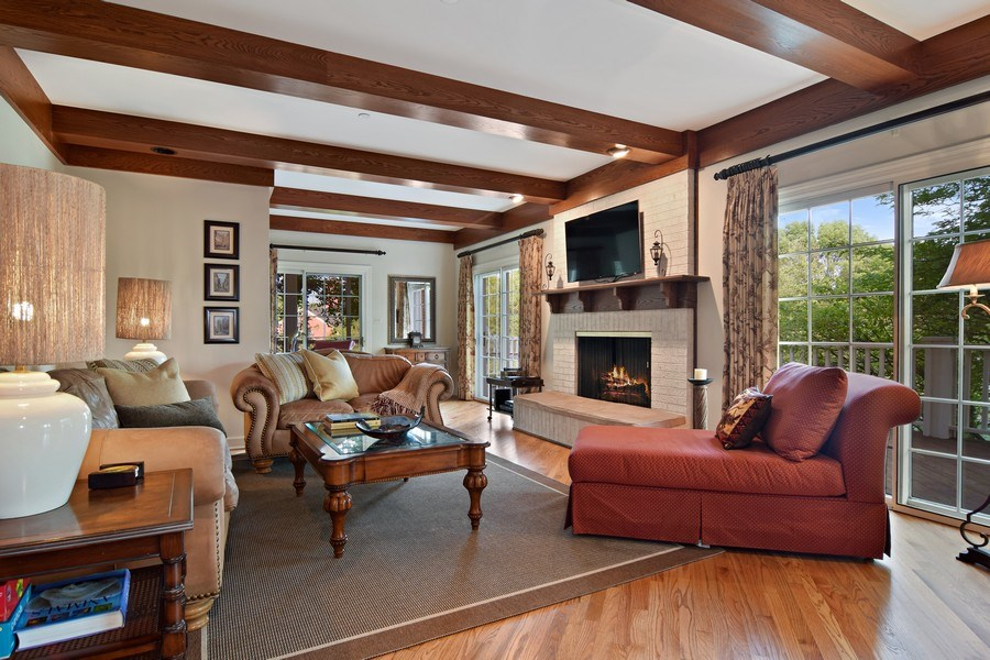 Real Estate Photography - 1626 Dublin Ct, Inverness, IL, 60010 - Family Room