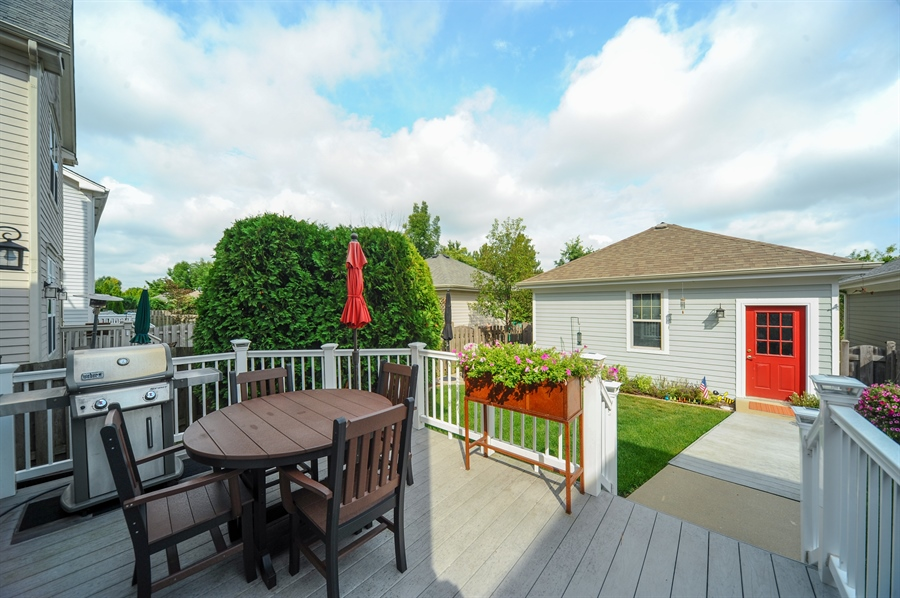 Real Estate Photography - 2528 Violet St, Glenview, IL, 60026 - Back Yard