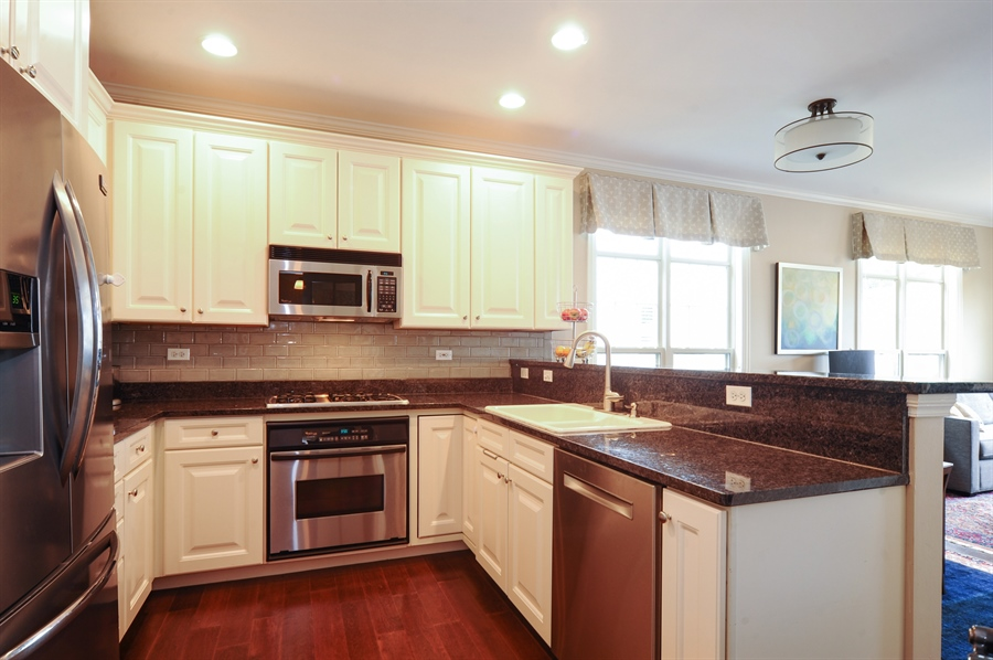 Real Estate Photography - 2528 Violet St, Glenview, IL, 60026 - Kitchen
