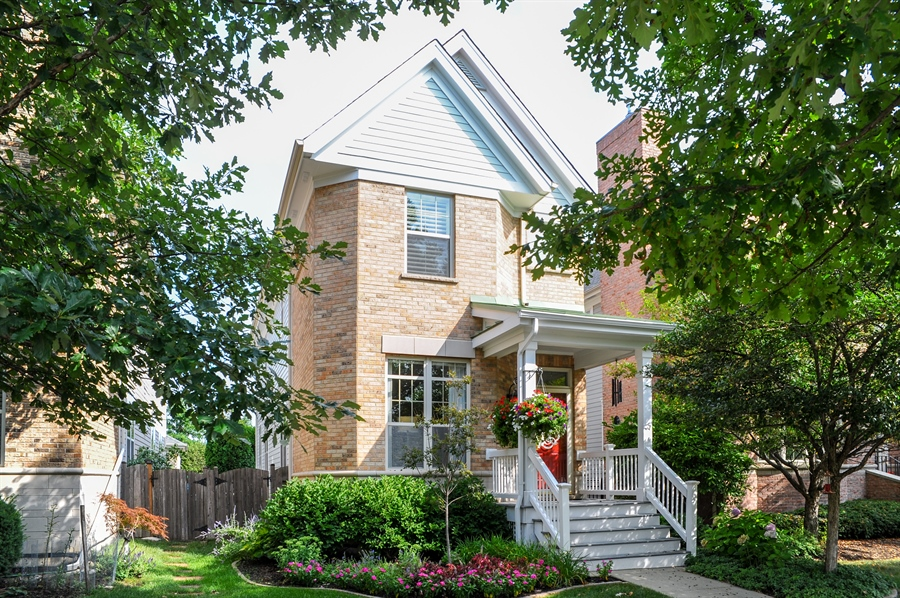 Real Estate Photography - 2528 Violet St, Glenview, IL, 60026 - Front View