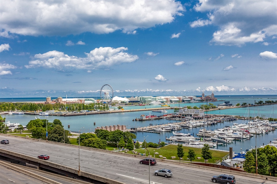 Real Estate Photography - 195 N Harbor Dr, 503, Chicago, IL, 60601 - View
