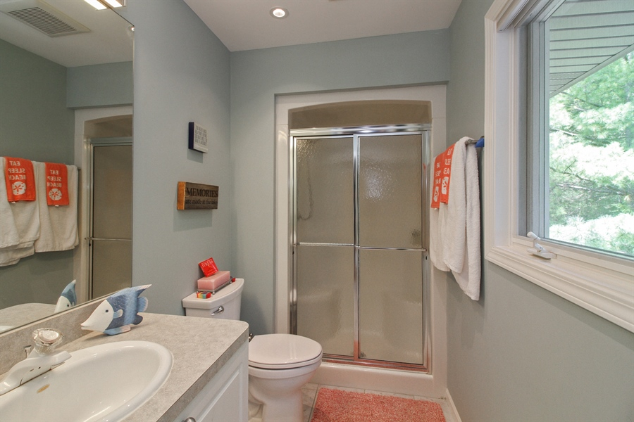 Real Estate Photography - 223 High St., Fontana, WI, 53125 - 3rd Bathroom