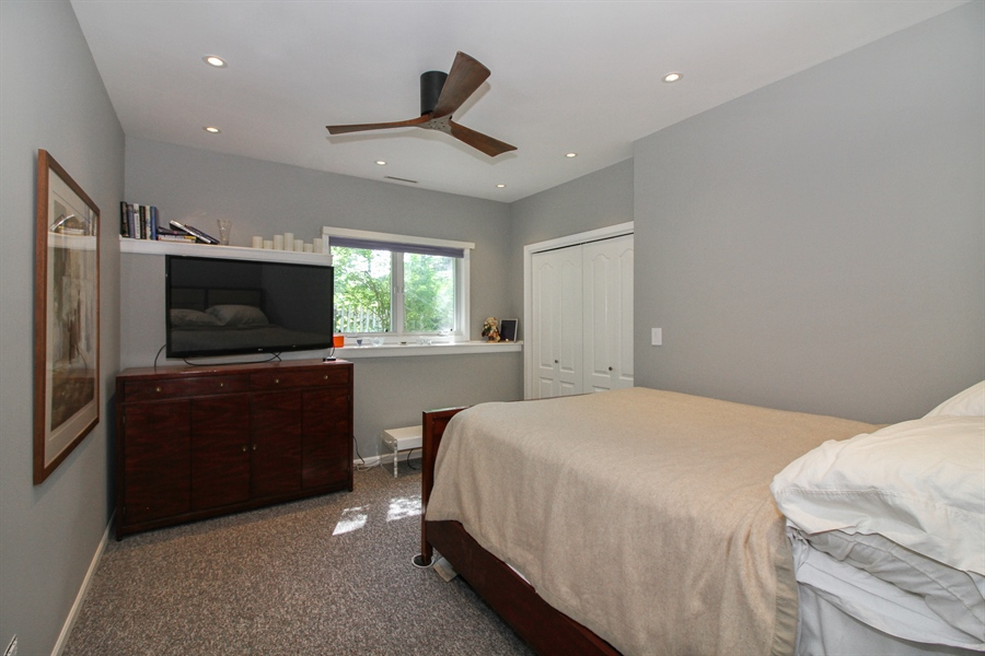 Real Estate Photography - 223 High St., Fontana, WI, 53125 - 2nd Bedroom