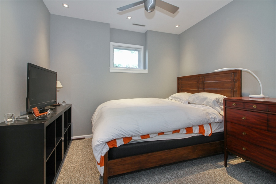 Real Estate Photography - 223 High St., Fontana, WI, 53125 - 3rd Bedroom