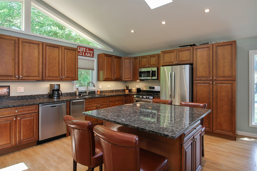 Real Estate Photography - 223 High St., Fontana, WI, 53125 - Kitchen