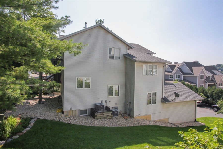 Real Estate Photography - 223 High St., Fontana, WI, 53125 - Side View