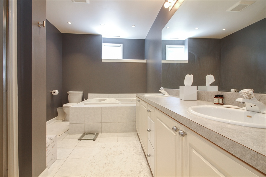 Real Estate Photography - 223 High St., Fontana, WI, 53125 - Bathroom