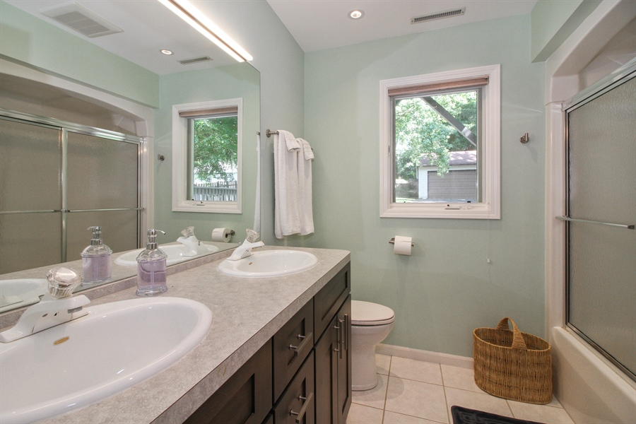 Real Estate Photography - 223 High St., Fontana, WI, 53125 - 2nd Bathroom
