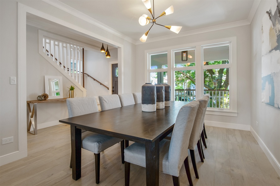 Real Estate Photography - 4028 N. Maplewood, Chicago, IL, 60618 - Dining Area