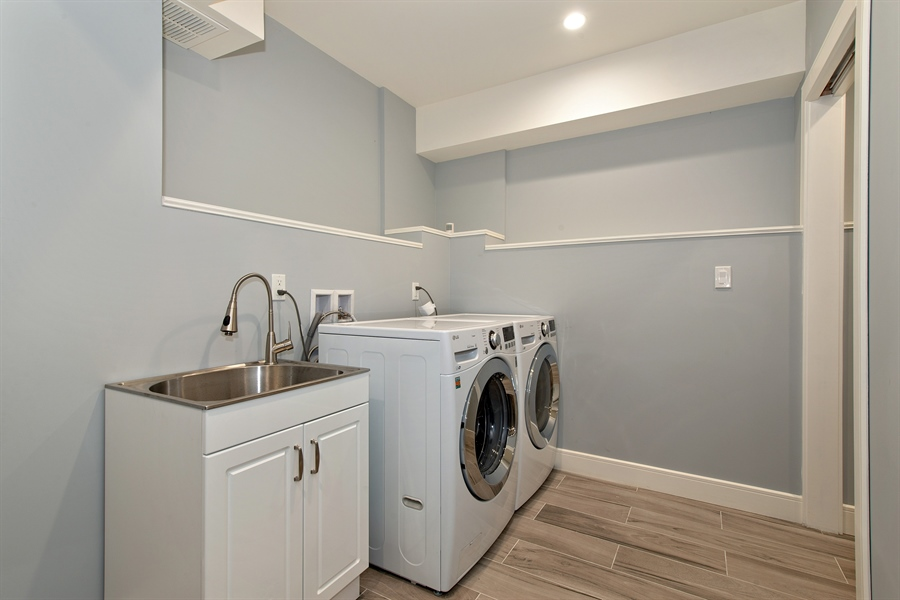 Real Estate Photography - 4028 N. Maplewood, Chicago, IL, 60618 - Laundry Room