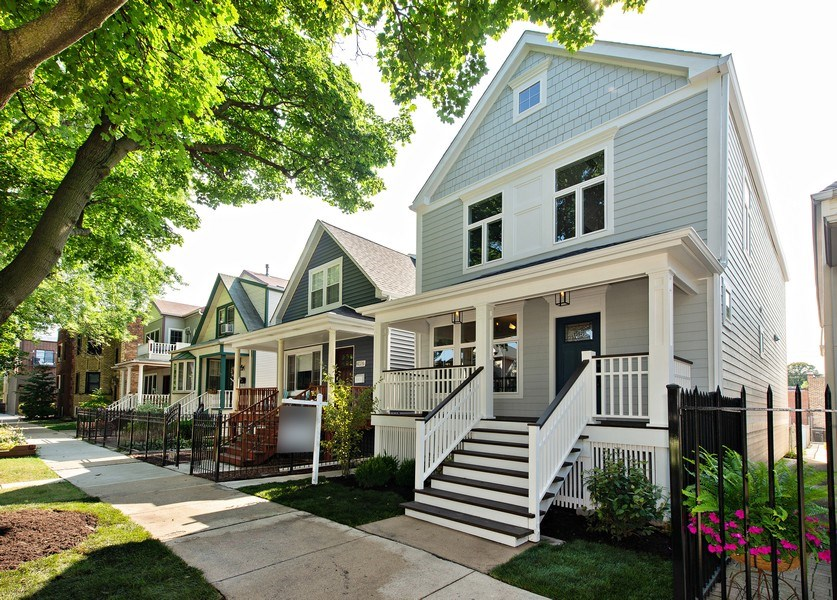 Real Estate Photography - 4028 N. Maplewood, Chicago, IL, 60618 - Front View