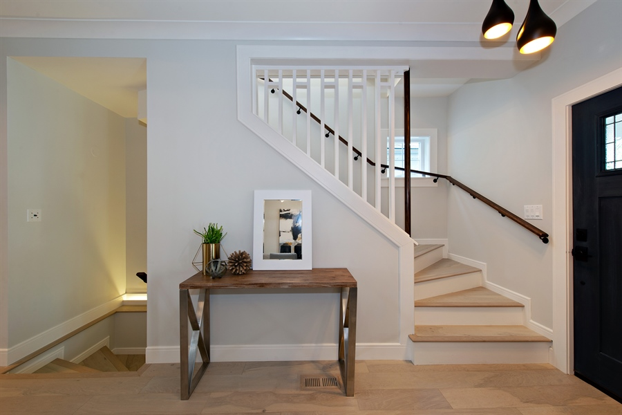 Real Estate Photography - 4028 N. Maplewood, Chicago, IL, 60618 - Staircase