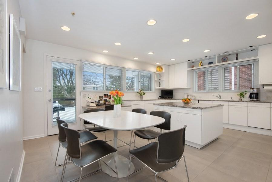 Real Estate Photography - 925 Sheridan Rd, Evanston, IL, 60202 - Kitchen / Breakfast Room