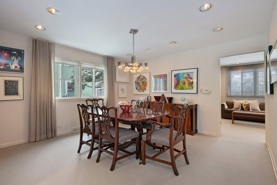 Real Estate Photography - 925 Sheridan Rd, Evanston, IL, 60202 - Dining Room