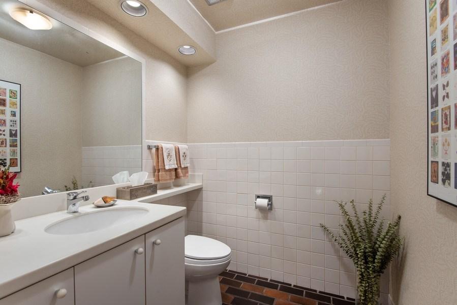 Real Estate Photography - 925 Sheridan Rd, Evanston, IL, 60202 - Powder Room