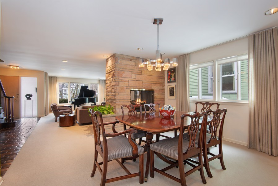Real Estate Photography - 925 Sheridan Rd, Evanston, IL, 60202 - Living Room/Dining Room
