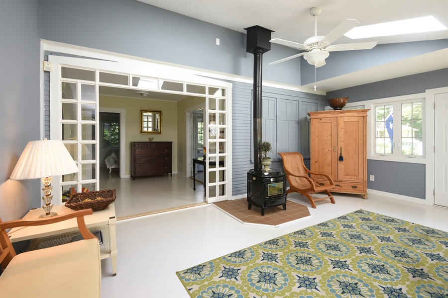 Real Estate Photography - 9850 Nolan Ave, Union Pier, MI, 49129 - Living Room