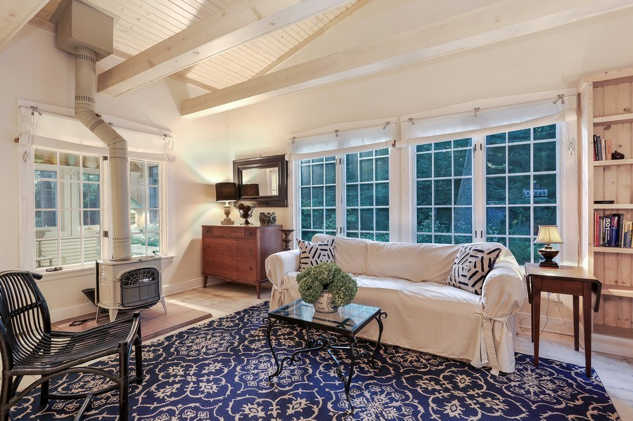 Real Estate Photography - 9850 Nolan Ave, Union Pier, MI, 49129 - Family Room
