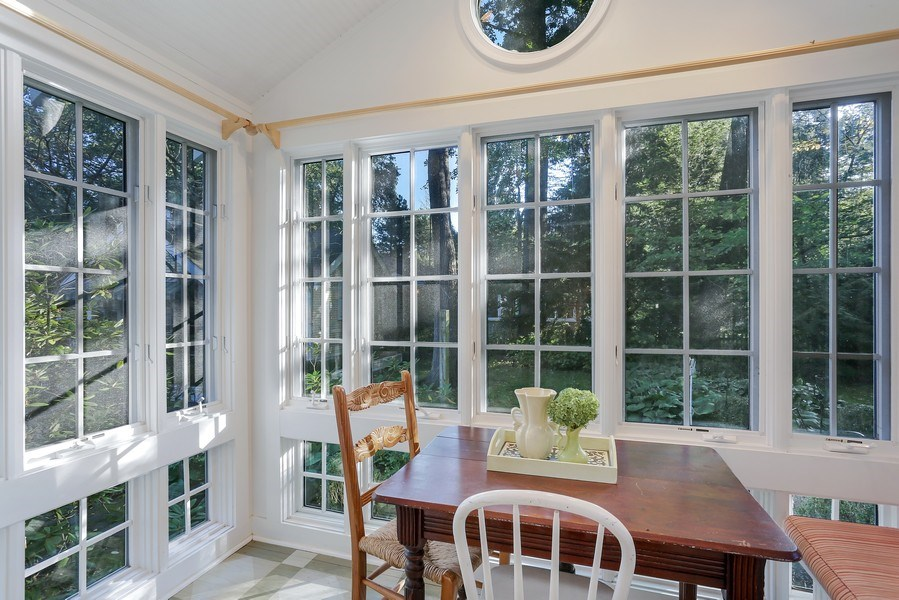 Real Estate Photography - 9850 Nolan Ave, Union Pier, MI, 49129 - Breakfast Area