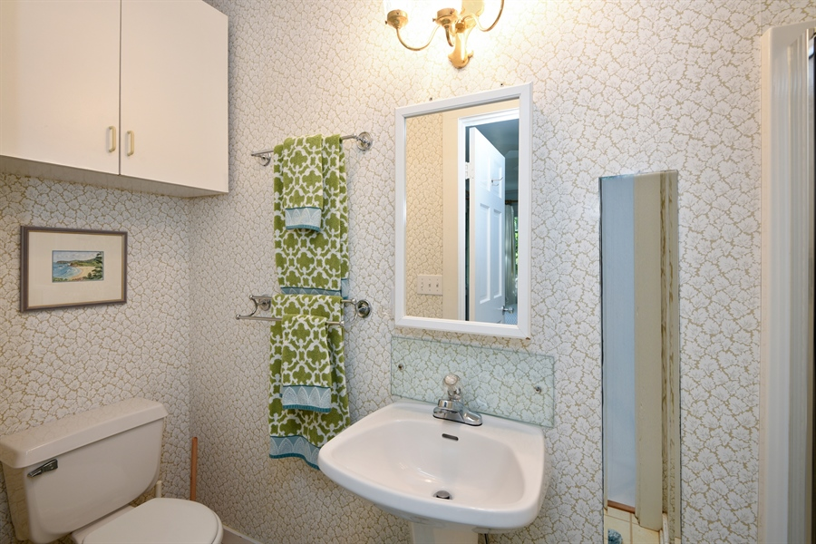 Real Estate Photography - 9850 Nolan Ave, Union Pier, MI, 49129 - Master Bathroom