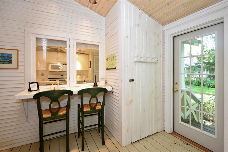 Real Estate Photography - 9850 Nolan Ave, Union Pier, MI, 49129 - Kitchen Breakfast Bar