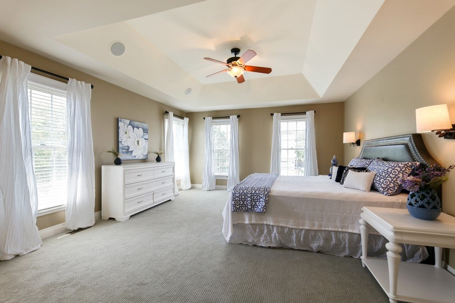 Real Estate Photography - 1471 Kittyhawk Ln, Glenview, IL, 60026 - Master Bedroom