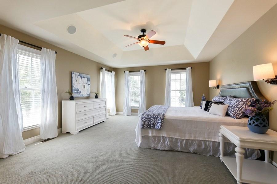 Real Estate Photography - 1471 Kittyhawk Ln, Glenview, IL, 60026 - Master Bedroom