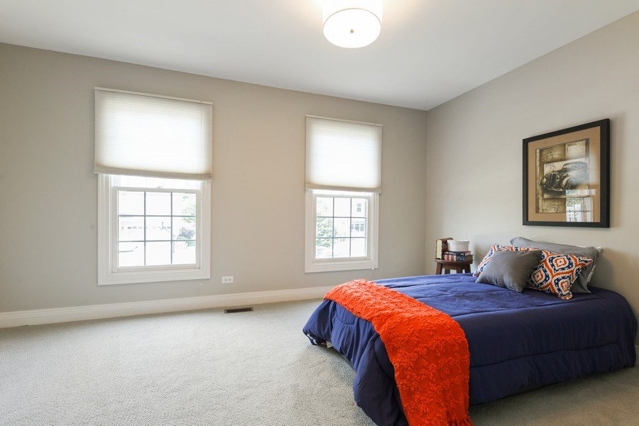 Real Estate Photography - 1471 Kittyhawk Ln, Glenview, IL, 60026 - 4th Bedroom