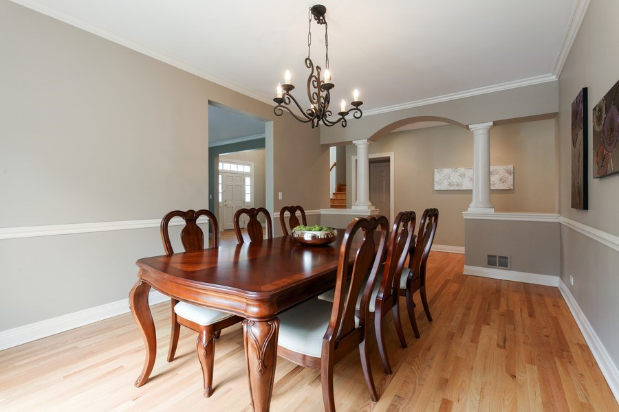 Real Estate Photography - 1471 Kittyhawk Ln, Glenview, IL, 60026 - Dining Room