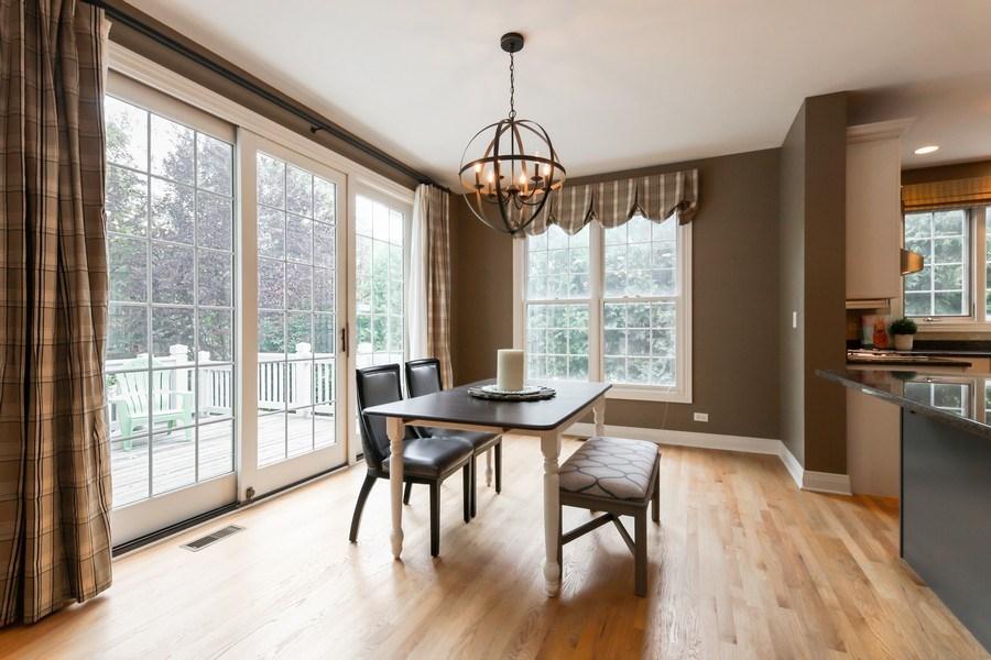 Real Estate Photography - 1471 Kittyhawk Ln, Glenview, IL, 60026 - Breakfast Area