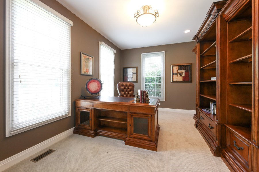 Real Estate Photography - 1471 Kittyhawk Ln, Glenview, IL, 60026 - Office