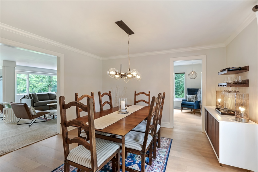 Real Estate Photography - 20730 W Exeter Rd, Kildeer, IL, 60047 - Dining Room
