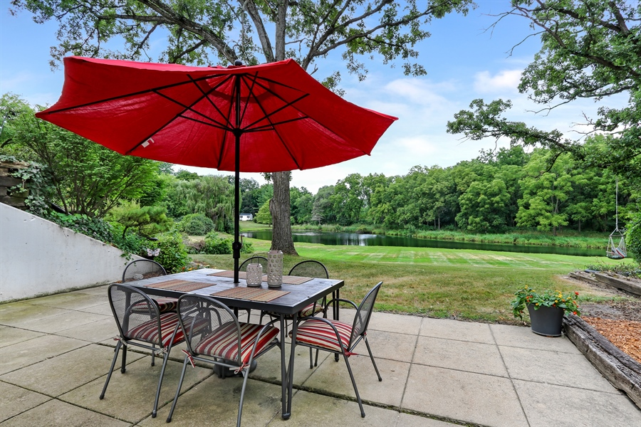 Real Estate Photography - 20730 W Exeter Rd, Kildeer, IL, 60047 - Back Yard