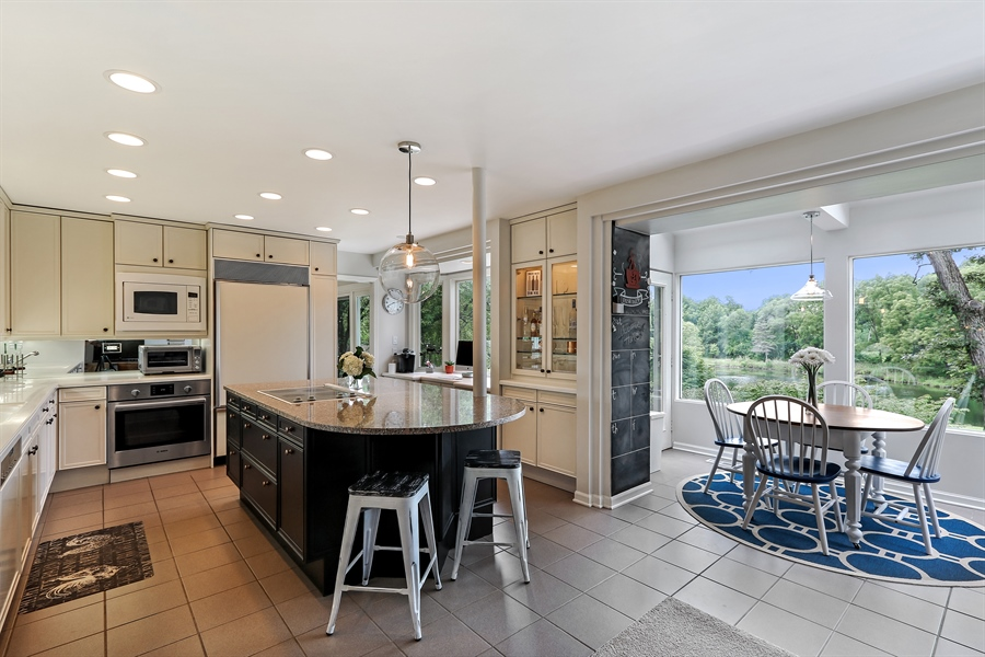 Real Estate Photography - 20730 W Exeter Rd, Kildeer, IL, 60047 - Kitchen