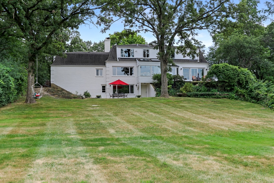 Real Estate Photography - 20730 W Exeter Rd, Kildeer, IL, 60047 - Rear View