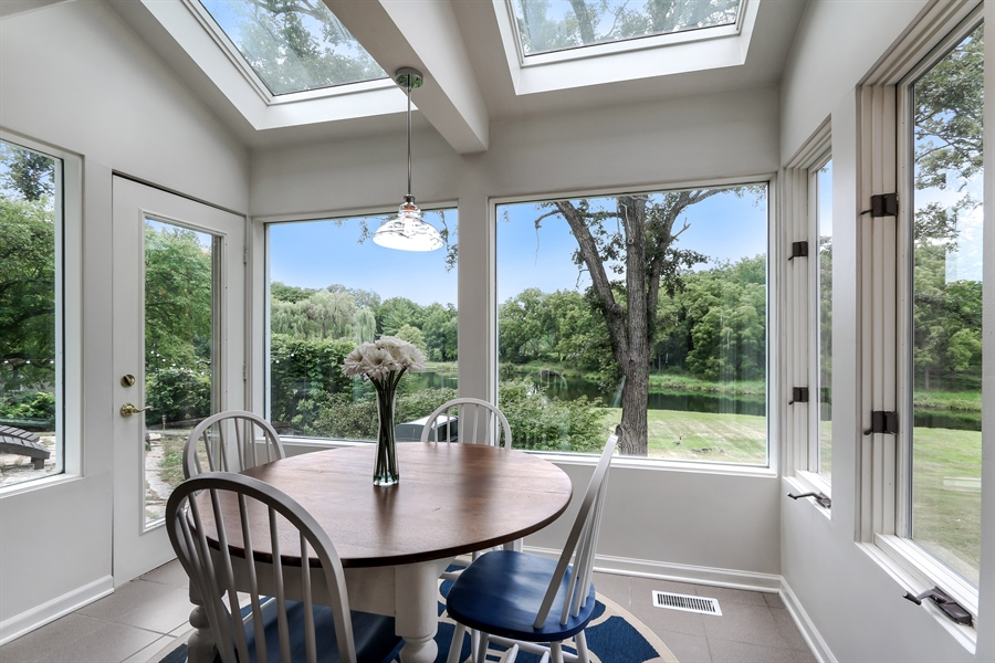 Real Estate Photography - 20730 W Exeter Rd, Kildeer, IL, 60047 - Breakfast Nook